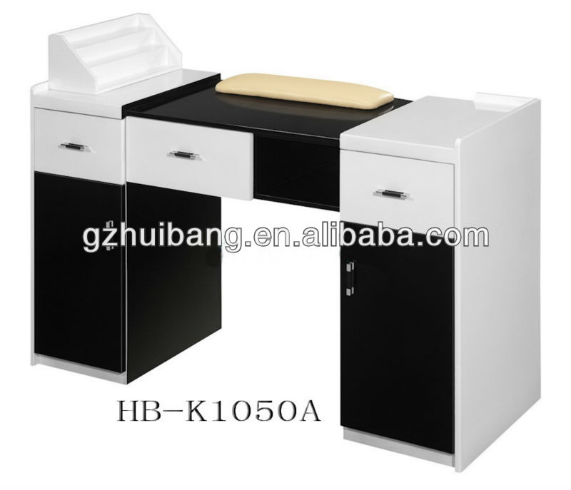 Nail technician desk best home design 2018 for Folding nail technician table
