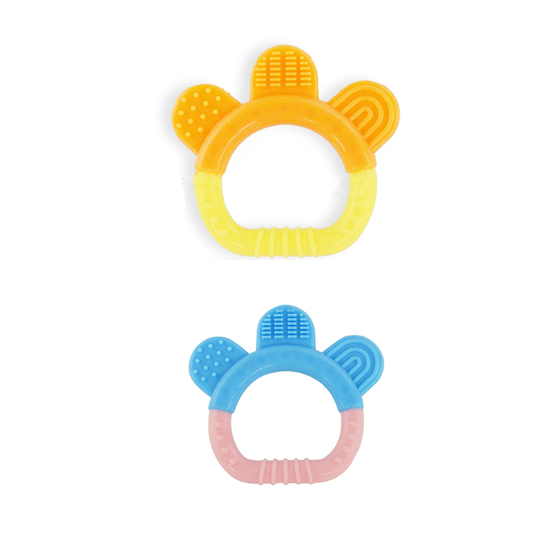 2016 New Gadgets Good Silicone Baby Teether Gel Filled Baby Teethers Organic Baby Teether