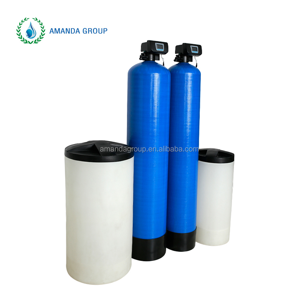 Full automatic water softening plant/machine/system remove hardness