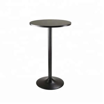 Metal Coffee Tulip Table Base Black Wrought Iron