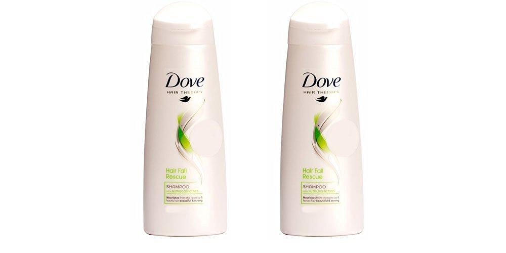 DOVE Hair Fall Rescue Shampoo - 180 ml Pack of 2