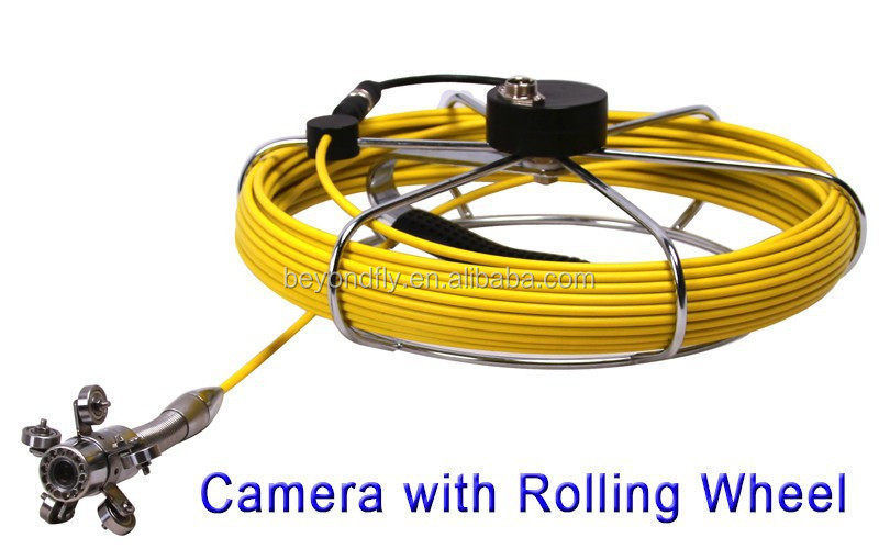 Inspection Camera Cable : Waterproof pipe inspection camera sewer