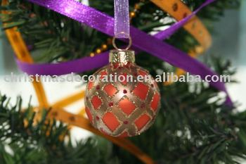 Christmas Ball Place Card Holder Hanging Decoration For Home
