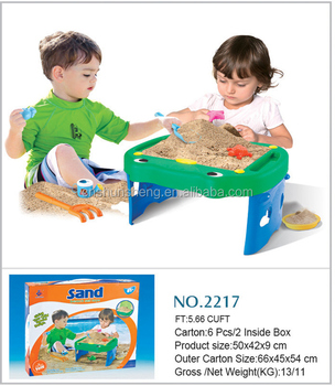 Sand Desk Beach Sand Table Toys