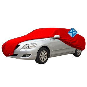 Inflatable hail proof car cover with doors and window