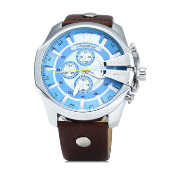 9702839d27c Relogio Masculino Man Watch 8176 Reloj Company Curren Stainless Steel Back