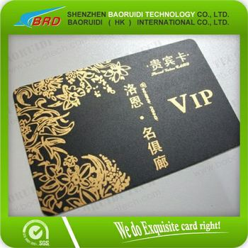 Plastic Vip Beauty Salon Membership Card - Buy Vip Cards,Member ...