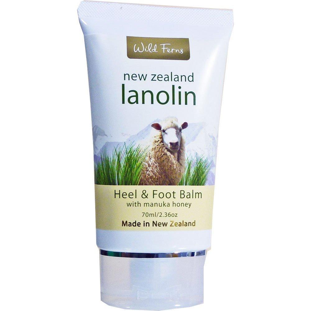 Lanolin Heel and Foot Balm with Manuka Honey