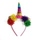 New Design Birthday Party Supplies Rainbow Unicorn Headband