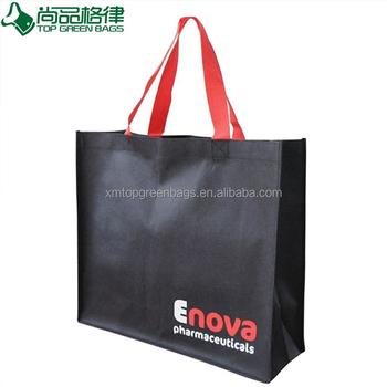 Non Woven Fabric Polypropylene Custom Tote Bags No Minimum