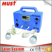 solar panels/ mobile charger/ radio 10W 30W solar system kits for home lighting