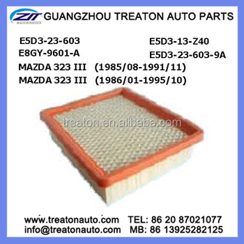 Air Filter E5d3-23-603 E5d3-13-z40 E8gy-9601-a E5d3-23-603-9a For ...