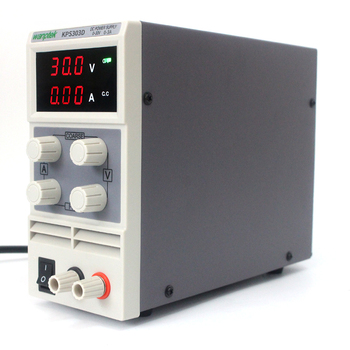 KPS303D Adjustable High precision double LCD display switch DC Power Supply protection function 30V 3A 115V-230V 0.1V/0.01A