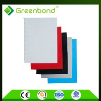 Greenbond nano self-cleaning pvdf building supplies online Aluminum Composite Panel with both side