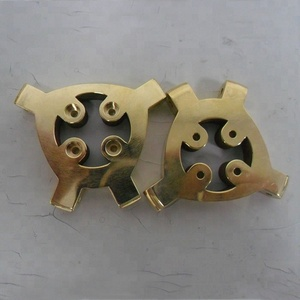 High Precision Brass Parts Brass Nuzzle Holder Machining Bracket Customized 3D Printer Parts