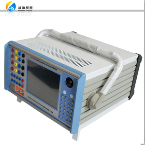 Windows XP System Six Phase AC Current source 40A AC voltage source 125v Relay Protection Tester