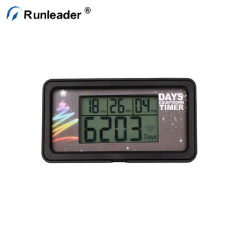 Runleader 30 Day Countdown Clock Countdown Timer Event Reminder LCD Black Timer New