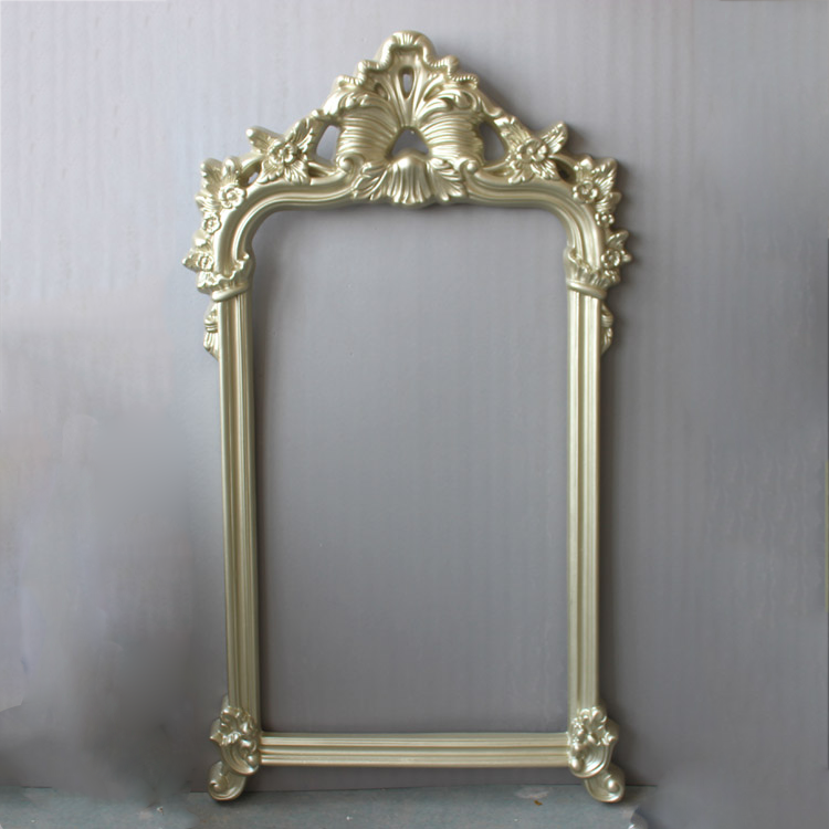 Antique Gold Leaf Wall Hanging <strong>Vintage</strong> Carving Mirror <strong>Frame</strong>