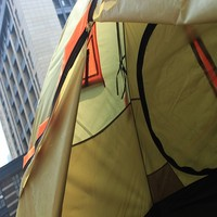1 door fresh color camping tent for 1-2 person
