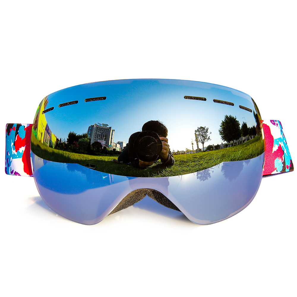 Guangzhou safety snowboarding goggles,goggles for skiing,custom Ski Goggles