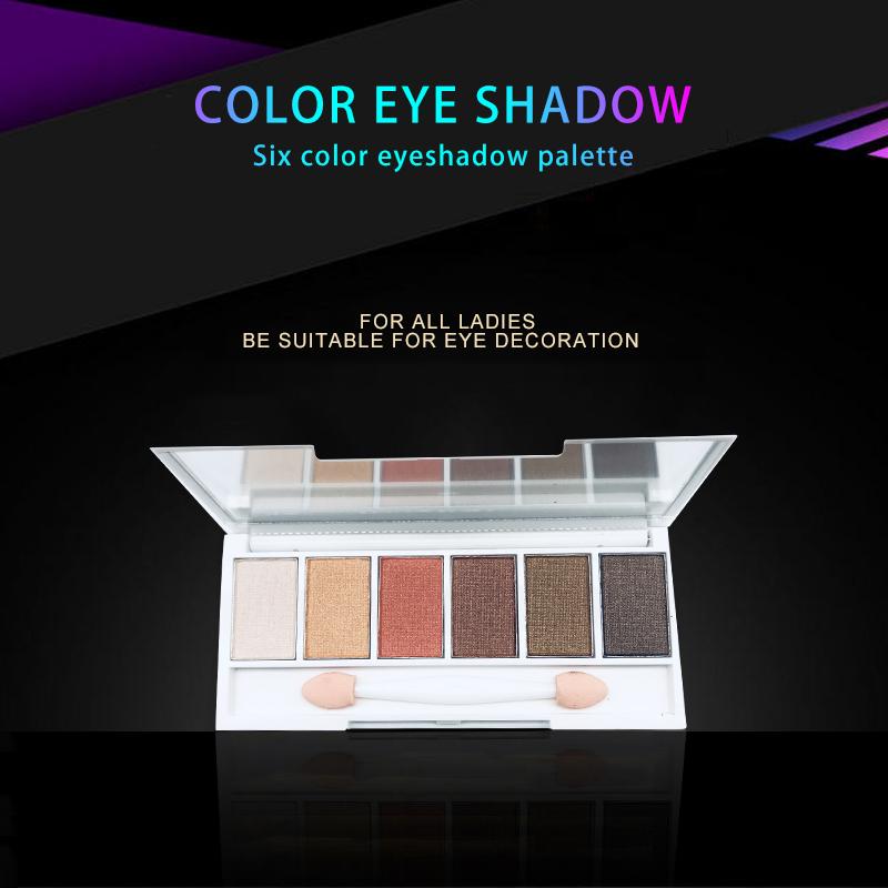 एकल आंखों के छायाएं धूपदान उपलब्ध कोई ब्रांड पैकेजिंग आईने के साथ आंखों के छायाएं पैलेट