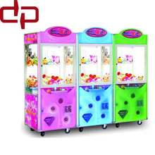 Best price coin operated vending stacker crane claw machine vending toy games machine for sale