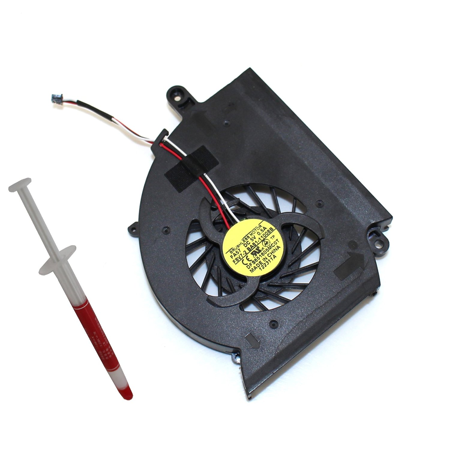 Generic NEW Laptop CPU Cooling Fan For Samsung RF510 RF511 RF710 RF712 RF711 Series Replacement Part Number DFS651605MCOT1