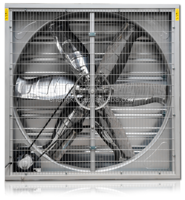 1100mm wall mounted galvanized sheet industrial exhaust fan in china