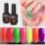 Cosmetic color nail gel peel off gel polish supplies nail art designs cost-effective uv glue cracked nail art gel polish
