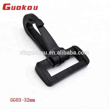 Factory supply plastic metal strap hook buckle