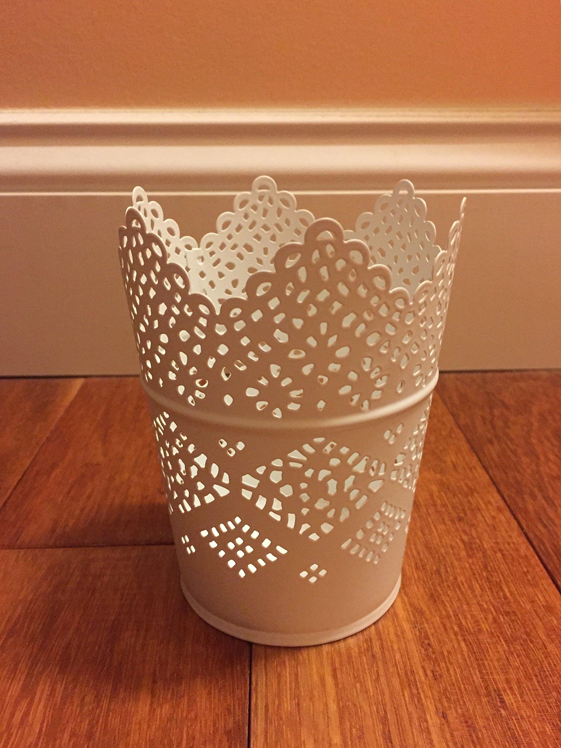 White X3 Ikea Skurar Skurar Candle Holder