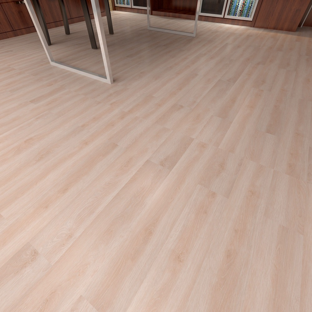 Dry back wooden LVT vinyl tile flooring 2 mm thickness