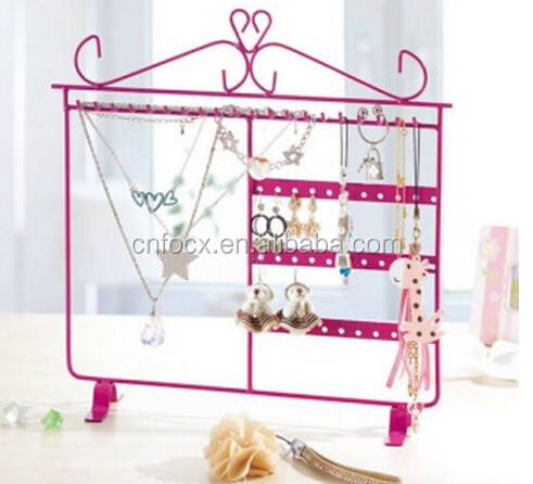 Good selling jewelry hanging hook /jewelry holder/jewelry shelf