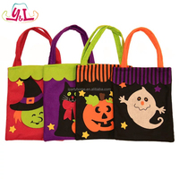 Felt Decorative Candy Bag Gift For Halloween Party Decoration