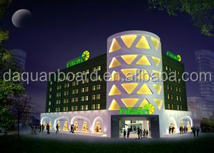 2014 new design hotel building for cheap cost and self regulation