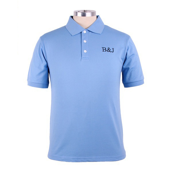 a748fdea6 High Quality 100% Cotton Pique Mens Customized Polo T Shirts With My  Company Embroidered Logo