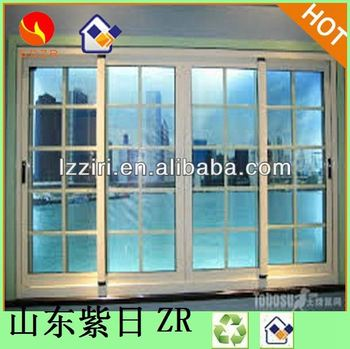 Aluminum New Design Window With Burglar Proof