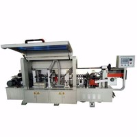 China Qingdao Double trimming PVC Edge Bander Machine Automatic Edge Bander Machine Pre Milling