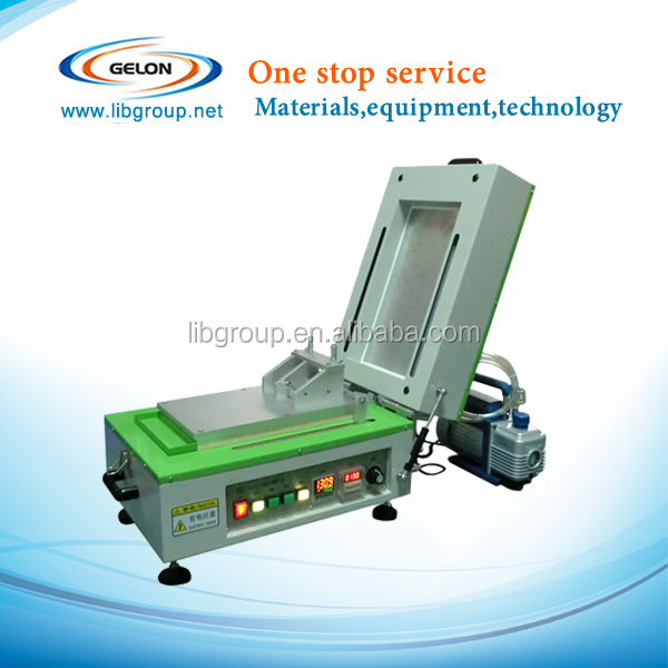 vacuum coating machine With Cover Heater,Vacuum pump&Micrometer film applicator GN-AFA-III for lithium battery lab
