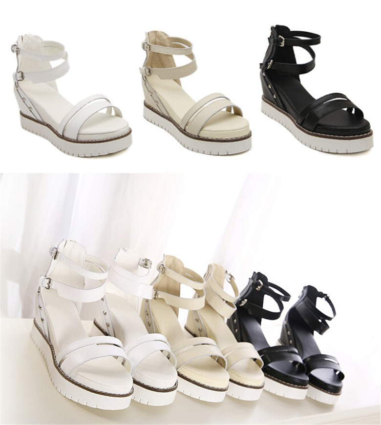 2014 Comfortable Lady's Latest Flat Sandals This Summer Fashion ...