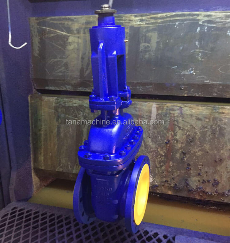 DIN F4 standard Rising spindle OS&Y bolted bonnet gate valve