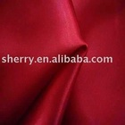 100% polyester soft red pure satin