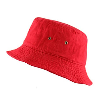 Promo wholesale custom printed cotton bucket hats