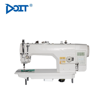 DT 9000-D4 Computer Single Needle Industrial Computerized Lockstitch Flat Lock High Speed Auto-trimmer Garment Sewing Machine