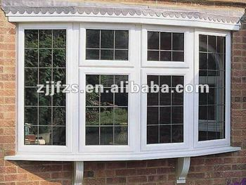 Pvc bow window buy window bow window pvc window product for Bow window construction detail