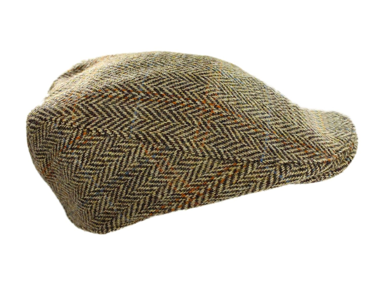 5bfe5234585d9 Get Quotations · Hanna Hats Irish Walking Hats for Men Grey Tweed Made in  Ireland