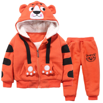 b3cfb0b880d9e Baby Boy Winter Suit Set Down Clothes Long Sleeve Outfits Warm Coat Kids  Newborn Wear