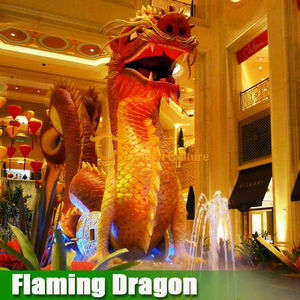 New! 2015 High Quality High Simulation Chinese Dragon