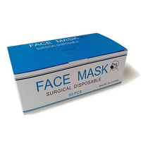 High Quality Surgical Disposable Non Woven Ear-loop 3-ply Face Mask