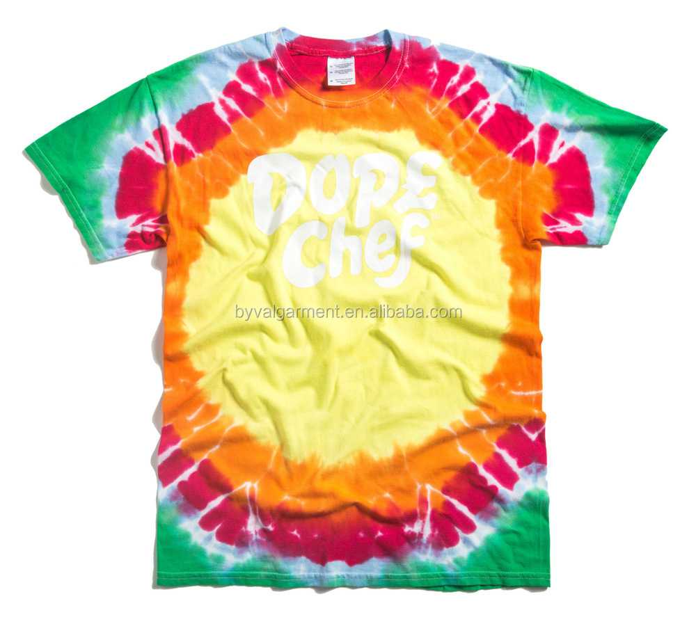 Custom tie dye t shirt wholesale china t shirt tie and dye for Customized tie dye shirts